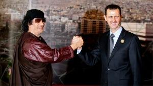 Gheddafi Assad